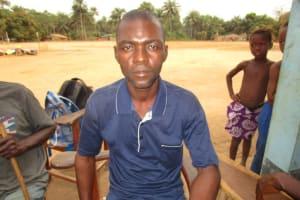 The Water Project: Lokomasama, Gbonkogbonko, Kankalay Primary School -  Mr Hassan Bangura