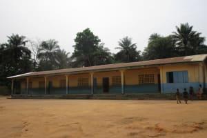 The Water Project: Lokomasama, Gbonkogbonko, Kankalay Primary School -  School Building