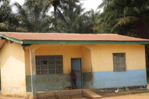 The Water Project: Lokomasama, Gbonkogbonko, Kankalay Primary School -  Staff Quarter