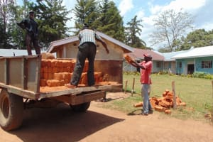 The Water Project: Musasa Secondary School -  Material Collection Teamwork