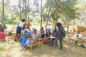 The Water Project: Munenga Community, Burudi Spring -  Training Activity Registration