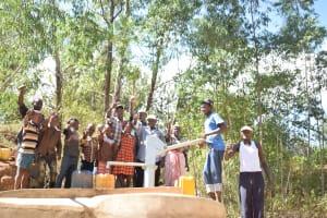 The Water Project: Ivumbu Community A -  Thumbs Up