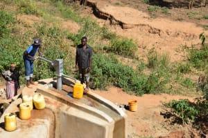The Water Project: Ivumbu Community A -  Well