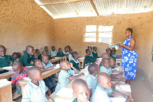 The Water Project: Mukangu Primary School -  Students In Class