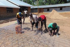 The Water Project: Musasa Secondary School -  Rain Tank Cover Mold