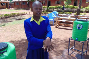 The Water Project: Essongolo Primary School -  Handwashing Training
