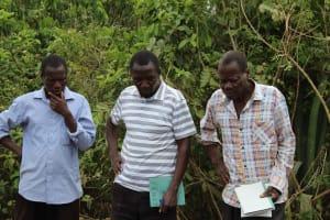 The Water Project: Mukhuyu Community, Kwakhalakayi Spring -  Spring Care Training