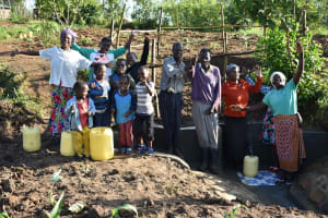 The Water Project: Eshiakhulo Community, Kweyu Spring -  Happy Faces