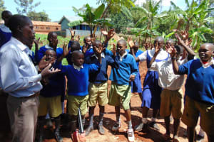 The Water Project: Kima Primary School -  Training
