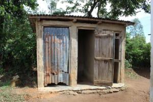 The Water Project: Mukangu Primary School -  Latrines