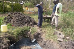 The Water Project: Eshiakhulo Community, Asman Sumba Spring -  Spring Foundation