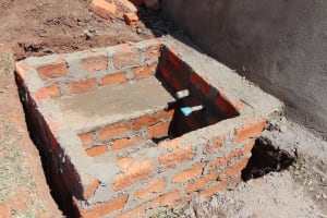 The Water Project: Musasa Secondary School -  Rain Tank Discharge Pipe