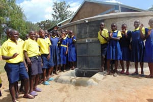 The Water Project: Ibwali Primary School -  Smiles For Fresh Water