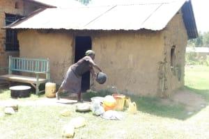 The Water Project: Mukangu Primary School -  School Kitchen
