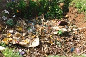 The Water Project: Kapchorwa Primary School -  Schools Dumpsite