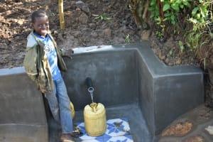 The Water Project: Eshiakhulo Community, Kweyu Spring -  Filling Up