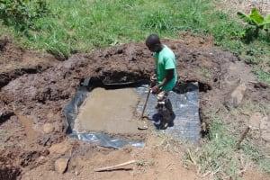 The Water Project: Musango Community, Mushikhulu Spring -  Spring Foundation