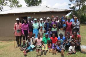 The Water Project: Mukhuyu Community, Kwawanzala Spring -  Training Participants