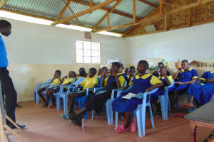 The Water Project: Ibwali Primary School -  Training Begins