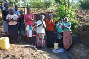 The Water Project: Eshiakhulo Community, Kweyu Spring -  Celebrating The Spring