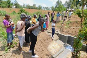 The Water Project: Eshiakhulo Community, Kweyu Spring -  Site Management Training