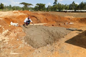 The Water Project: Immaculate Heart Secondary School -  Latrine Construction