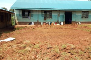The Water Project: Munyanza Primary School -  Tank Foundation