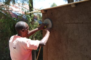 The Water Project: Nambilima Secondary School -  Latrine Construction