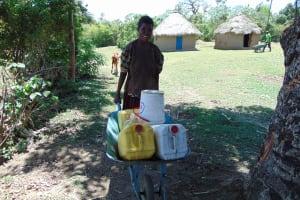 The Water Project: Mukhuyu Community, Kwakhalakayi Spring -  Construction