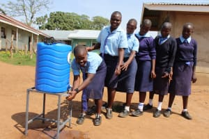 The Water Project: Musasa Secondary School -  Handwashing Smiles