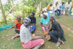 The Water Project: Eshiakhulo Community, Kweyu Spring -  Group Discussion