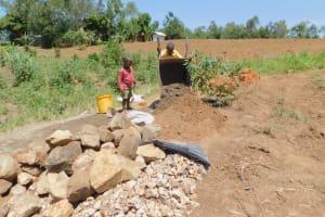 The Water Project: Eshiakhulo Community, Kweyu Spring -  Helping Hands