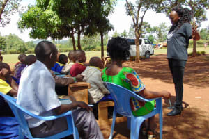 The Water Project: Essongolo Primary School -  Training