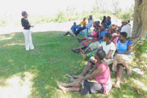 The Water Project: Eshiakhulo Community, Asman Sumba Spring -  Training