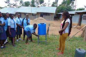The Water Project: Musasa Secondary School -  Handwashing Practice