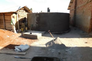 The Water Project: Immaculate Heart Secondary School -  Tank Progress