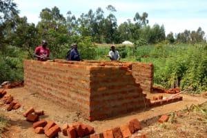 The Water Project: Munyanza Primary School -  Latrine Construction