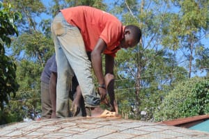 The Water Project: Kima Primary School -  Dome Construction