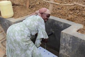 The Water Project: Mukhuyu Community, Kwakhalakayi Spring -  Flowing Water