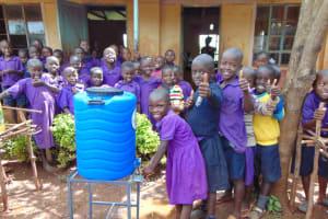 The Water Project: Munyanza Primary School -  Handwashing Station