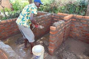 The Water Project: Kima Primary School -  Latrine Construction