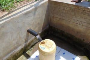 The Water Project: Musango Community, Mushikhulu Spring -  Water Flowing