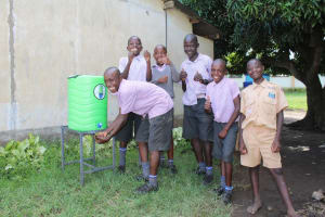 The Water Project: Mayoni Township Primary School -  Handwashing Station