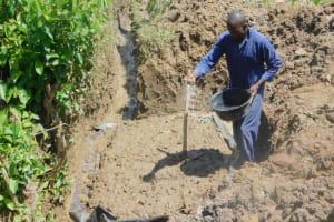 The Water Project: Eshiakhulo Community, Kweyu Spring -  Construction Begins