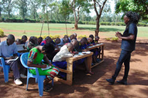 The Water Project: Essongolo Primary School -  Taking Notes