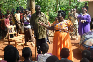 The Water Project: Mutao Community, Shimenga Spring -  Training