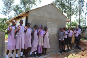 The Water Project: Mayoni Township Primary School -  New Latrines