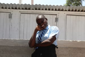The Water Project: Nambilima Secondary School -  Finished Latrines