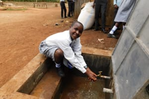 The Water Project: Immaculate Heart Secondary School -  Flowing Water