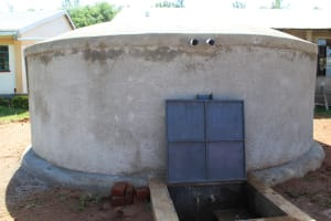 The Water Project: Mayoni Township Primary School -  Finished Tank
